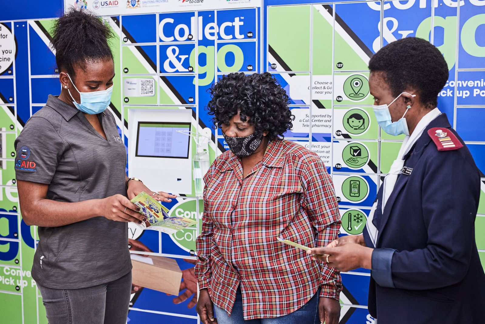 Soweto gets 15 smart lockers for safe medicine collection